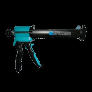 Pistola inyectora aplicador manual epóxico